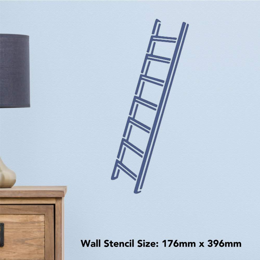 WS014034 Templates /'Ladder/' Wall Stencils