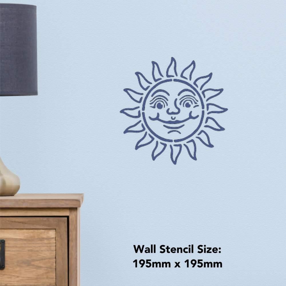 Templates WS001510 /'Sun/' Wall Stencils