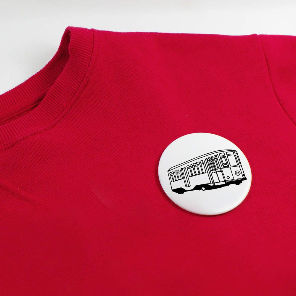 039-Vehicule-de-tram-039-boutons-de-badge-BB020042 miniature 4
