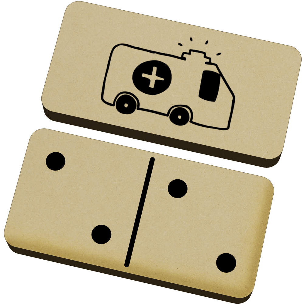 'Ambulance' Domino Set & Box (DM00008540)