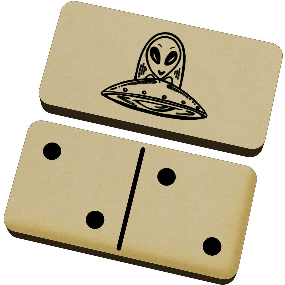 'Alien UFO' Domino Set & Box (DM00012230)