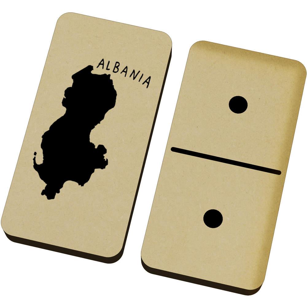 'Albania Country' Domino Set & Box (DM00012482)