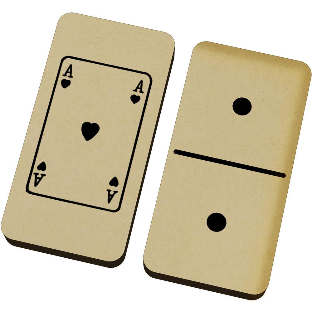 'Ace Of Hearts' Domino Set & Box (DM00014910)