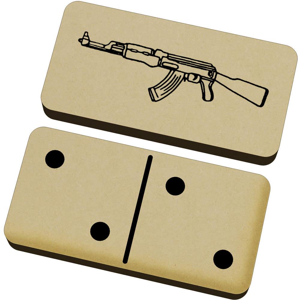 'AK47 Weapon' Domino Set & Box (DM00017319)