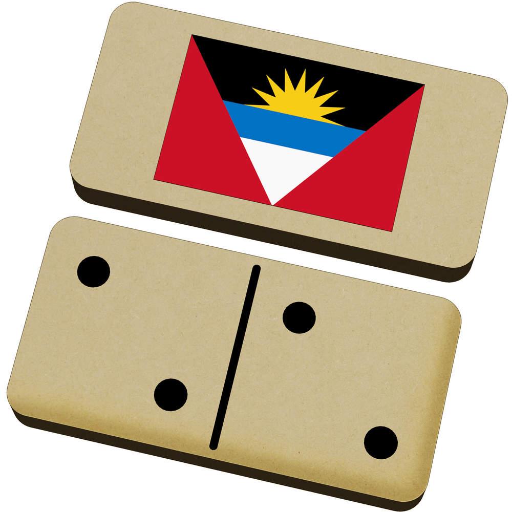 'Antigua & Barbuda Flag' Domino Set & Box (DM00020480)