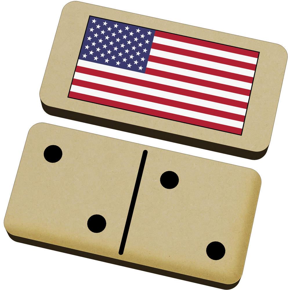 'American Flag' Domino Set & Box (DM00020506)