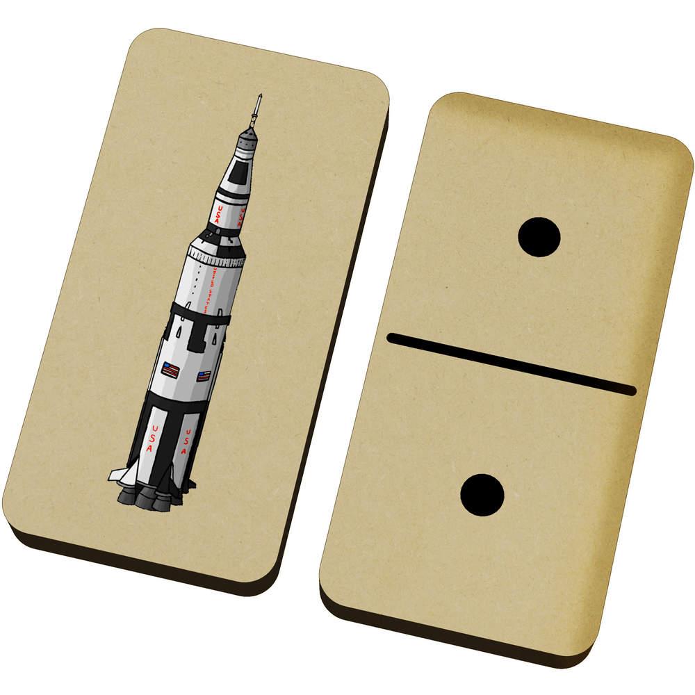 'Apollo 11 Rocket' Domino Set & Box (DM00022168)