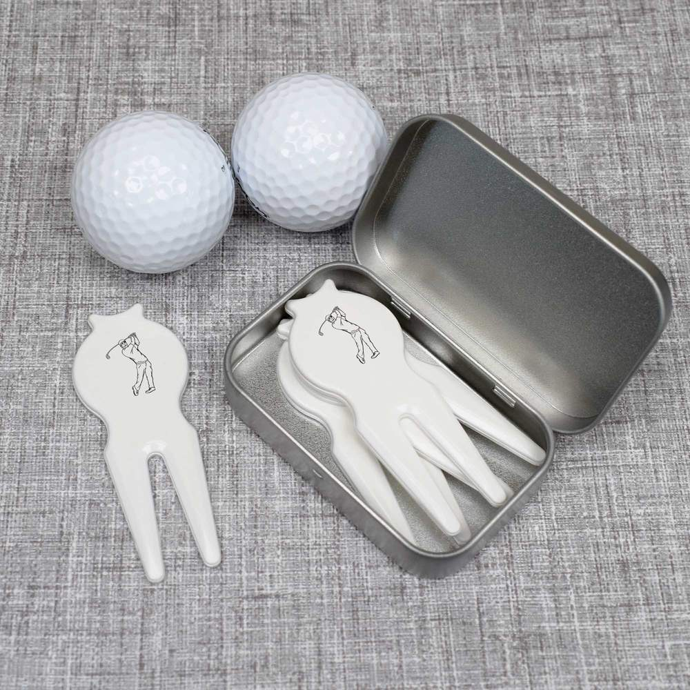 Indexbild 4 - 'Golf Swing' Golf Tin Gift Set (GO002861)