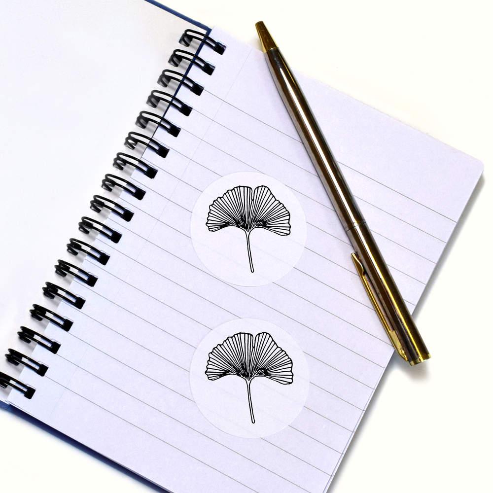 ginkgo leaf stickers sk018603 ebay