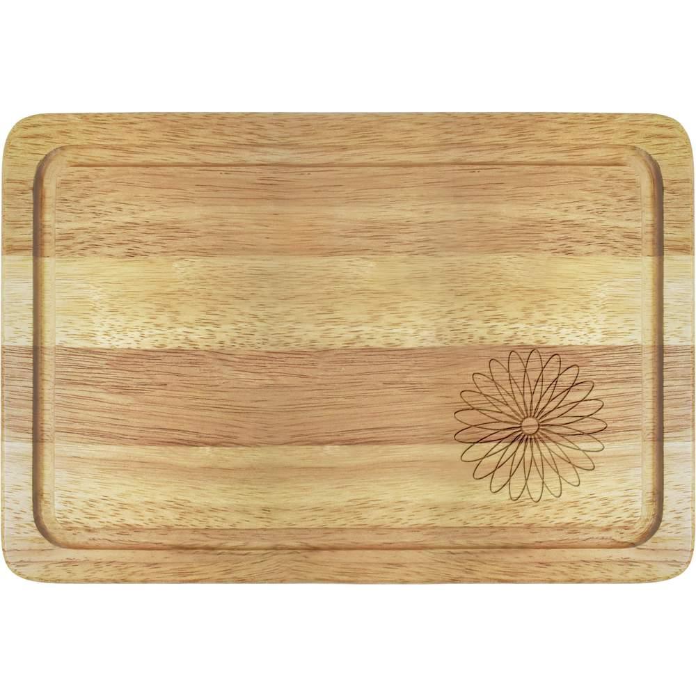 Marguerite Planches De Cuisine En Bois Wb009709 Ebay